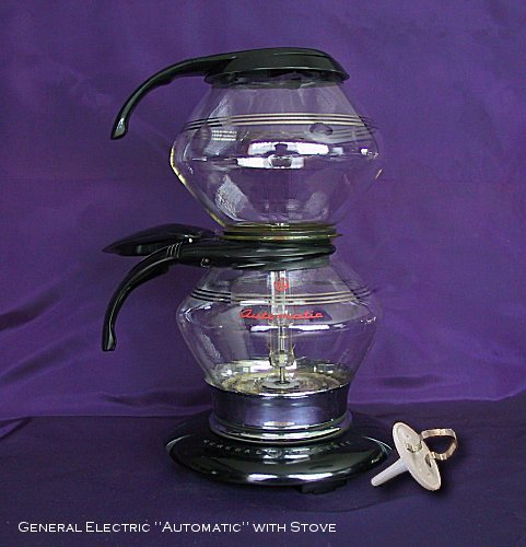 Vintage, Antique General Electric Automatic Vacuum Coffee
