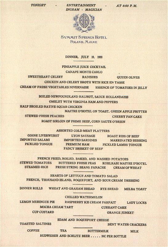 fancy restaurant menu cover