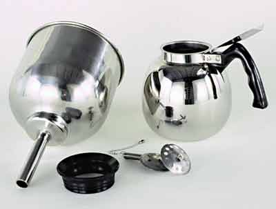 Vacuum Coffee Maker Metal : Vacuum Coffee Pots: Manufacturers